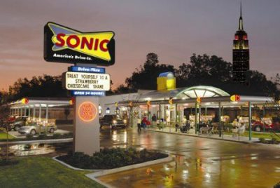 Sonic coupons, specials