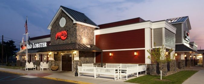 Red Lobster exterior; Red Lobster coupons and specials