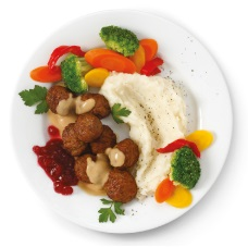 Swedish Meatballs at IKEA restaurants