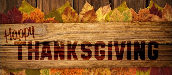 See below for Thanksgiving 2018 restaurant specials