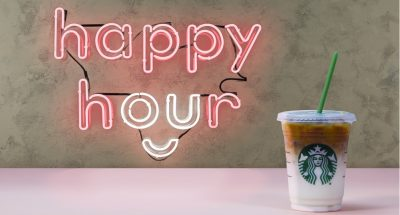 Starbucks Happy Hour for 2019
