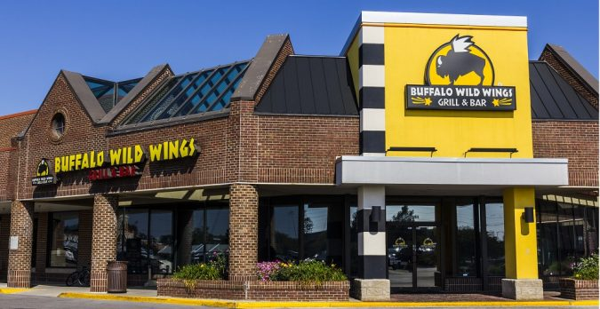 Buffalo Wild Wings (Photo by Shutterstock)