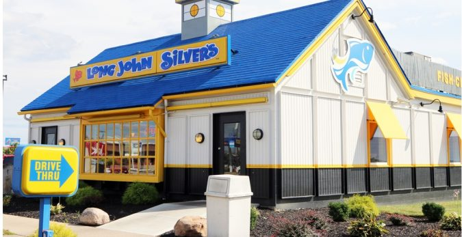 Specials at Long John Silver's seafood restaurant