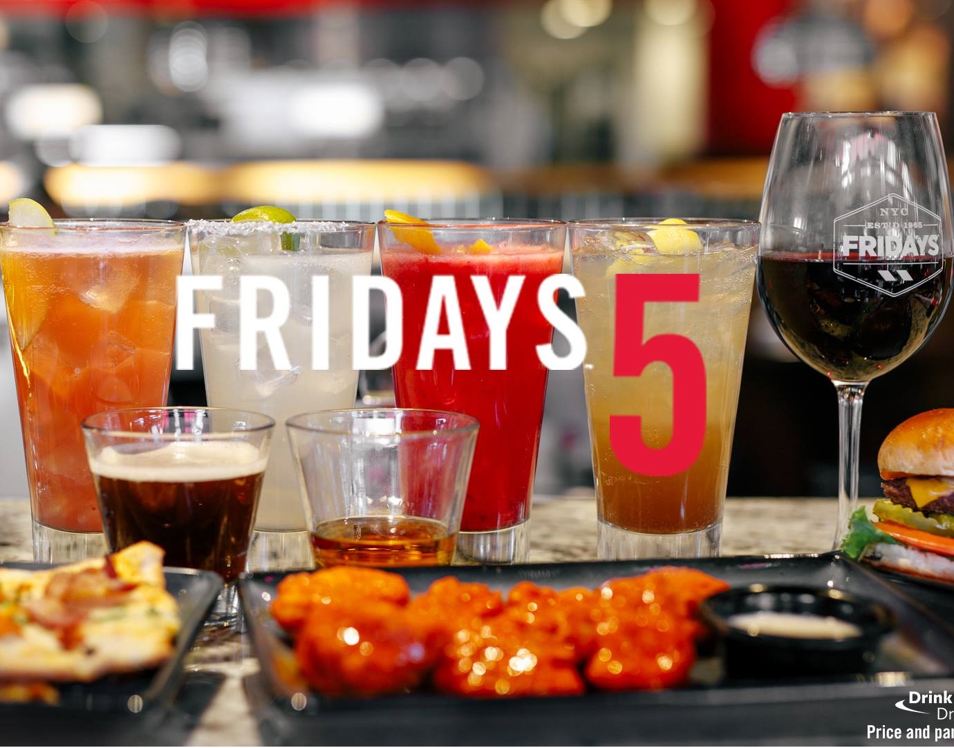picture about Tgi Fridays Printable Coupons named TGI Fridays $5 Offers EatDrinkDeals