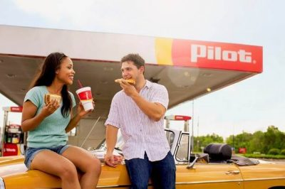 Use the Pilot Flying J app to get food and drink discounts