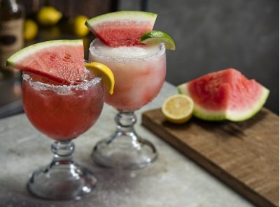 Watermelon Margaritas at Cheddars Scratch Kitchen