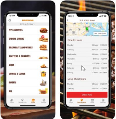 Burger King Mobile App Review