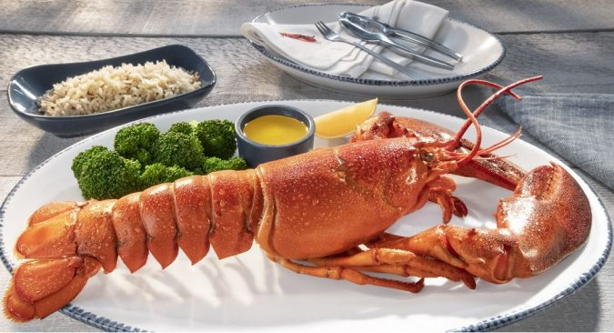 Lobster Day special at Red Lobster