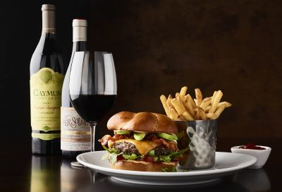 Caymus and Wine special at Fleming's