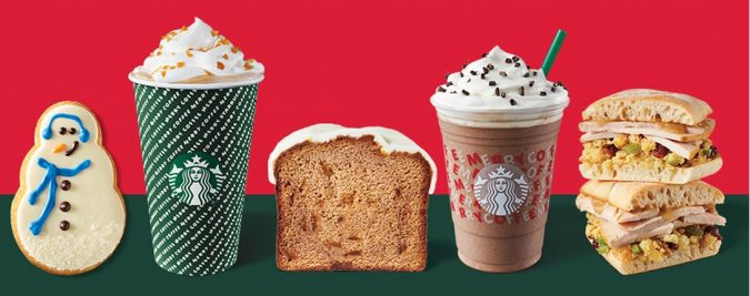 Starbucks holiday food items for 2019