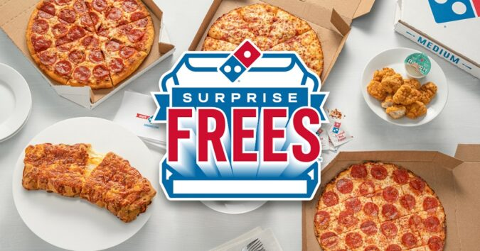Domino's Surprise Frees Promotion