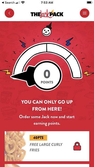 Jack in the Box App Deal